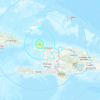 Deadly earthquake rocks Haiti; Flooding downpours may complicate re...